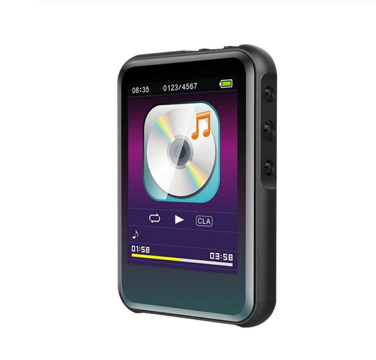 M16 MP3 Player 2.4 inches TFT Screen with Bluetooth 4.0 Music Player Stereo Mini Player Portable Slim MP3 Player