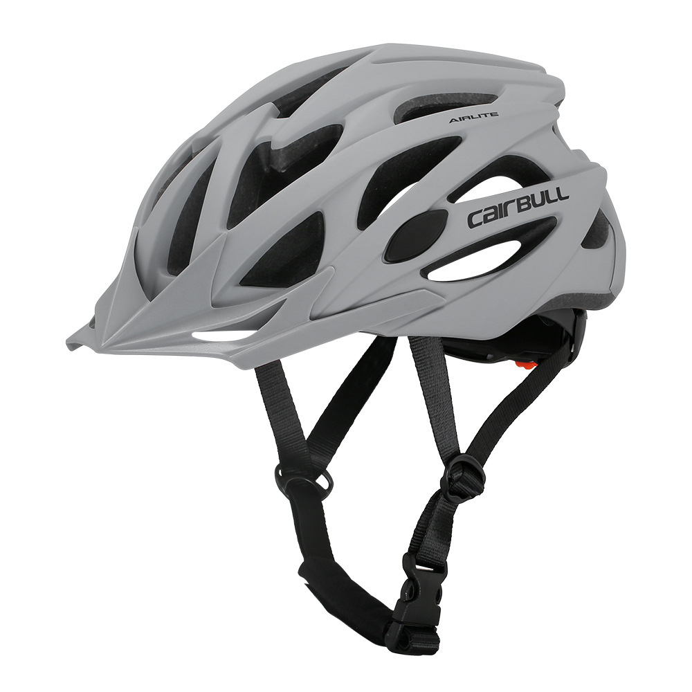 Helmet  With  Sunglasses For Road Bike MTB Outdoor Sports Riding Eps Safety Helmet Grey_l