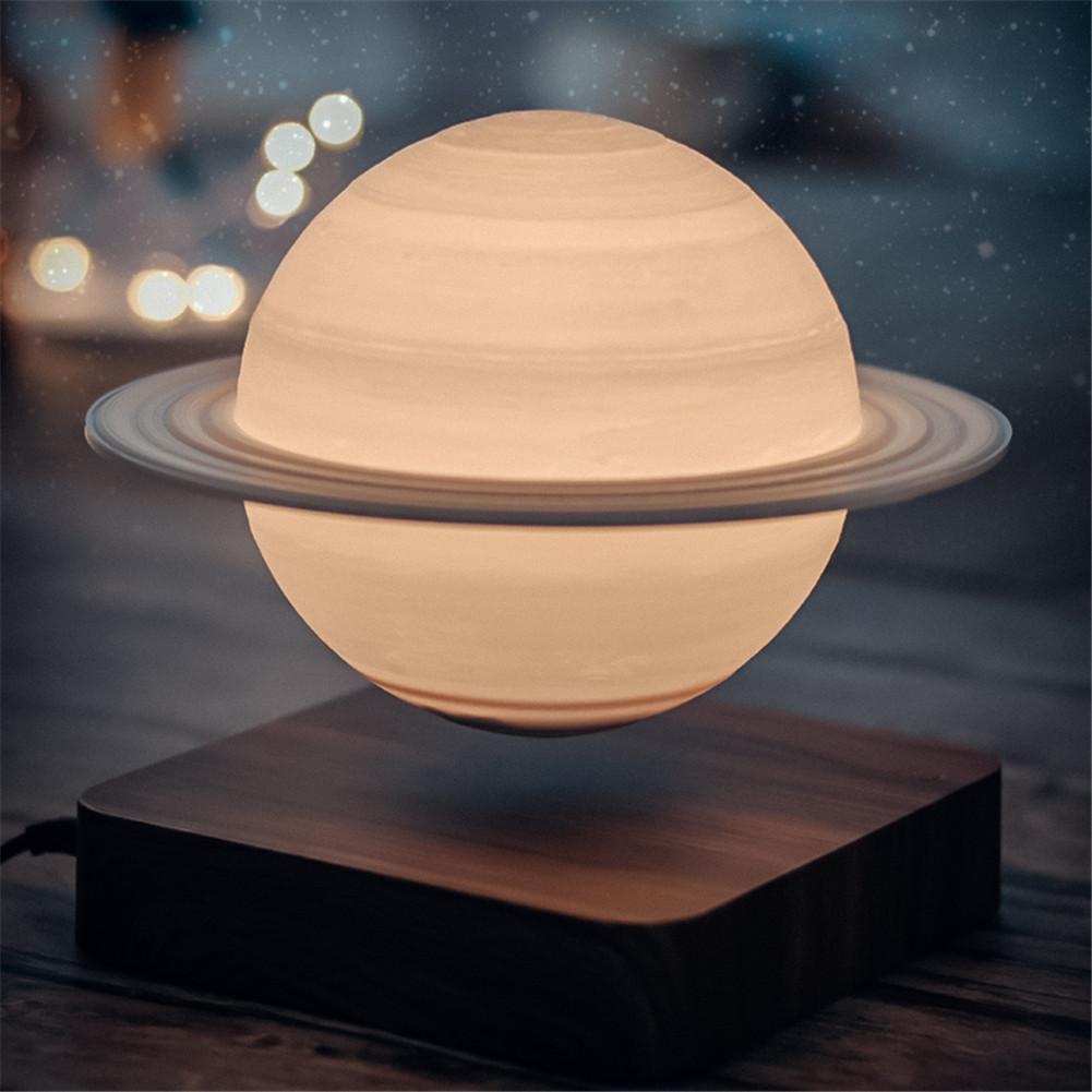 Suspension  Saturn  Lamp 3d Printing 17cm Diameter Gift Lamp 3d Night Light Novelty Suspension Lamp