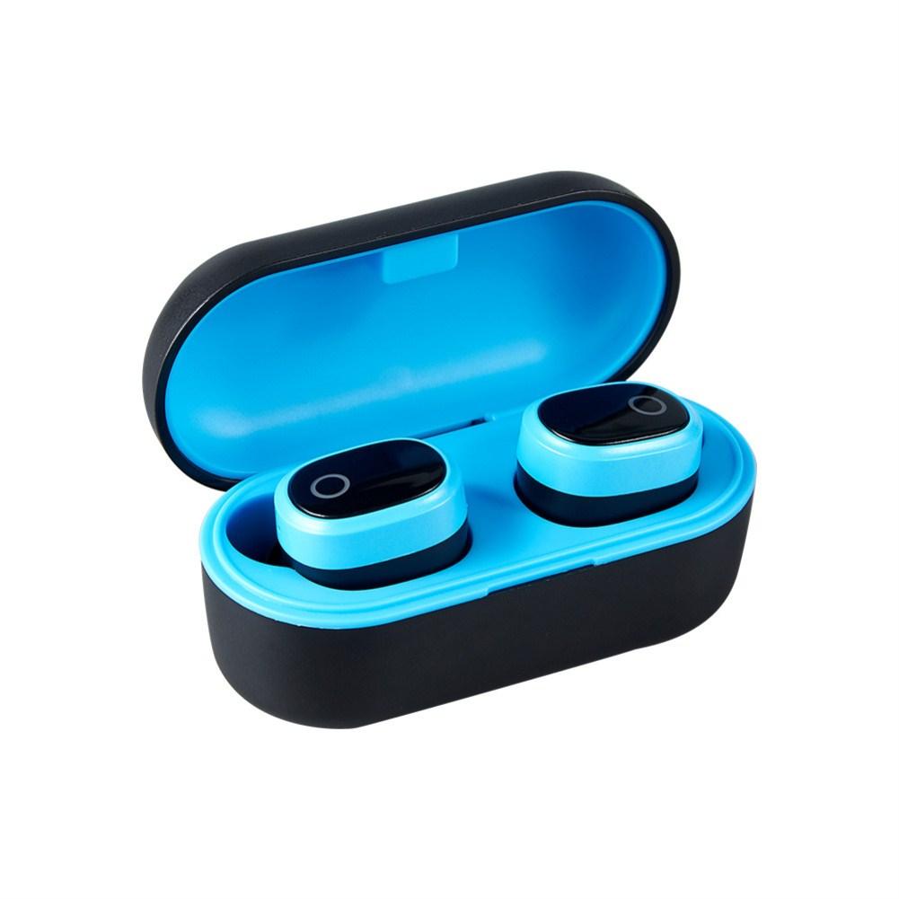 A9 Wireless Bluetooth 5.0 Earbuds TWS Binaural Stereo Earphones Headphones  blue