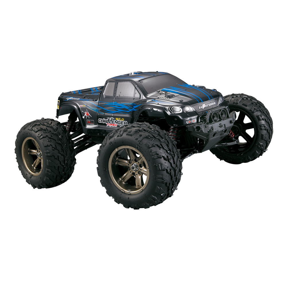 Xinlehong 9115 2.4GHz 2WD 1/12 40km/h Electric RTR High Speed RC Car SUV Vehicle Model Radio Remote Control Vehicle Toys Cars Truck blue