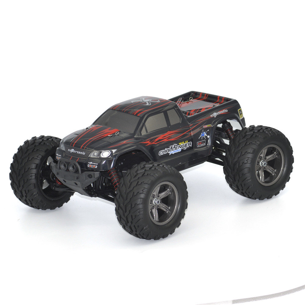 Xinlehong 9115 2.4GHz 2WD 1/12 40km/h Electric RTR High Speed RC Car SUV Vehicle Model Radio Remote Control Vehicle Toys Cars Truck red