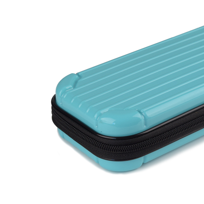 Portable Storage Case for Switch Lite PC Game Console Waterproof Shockproof Overall Protective Cover Travel Shell blue
