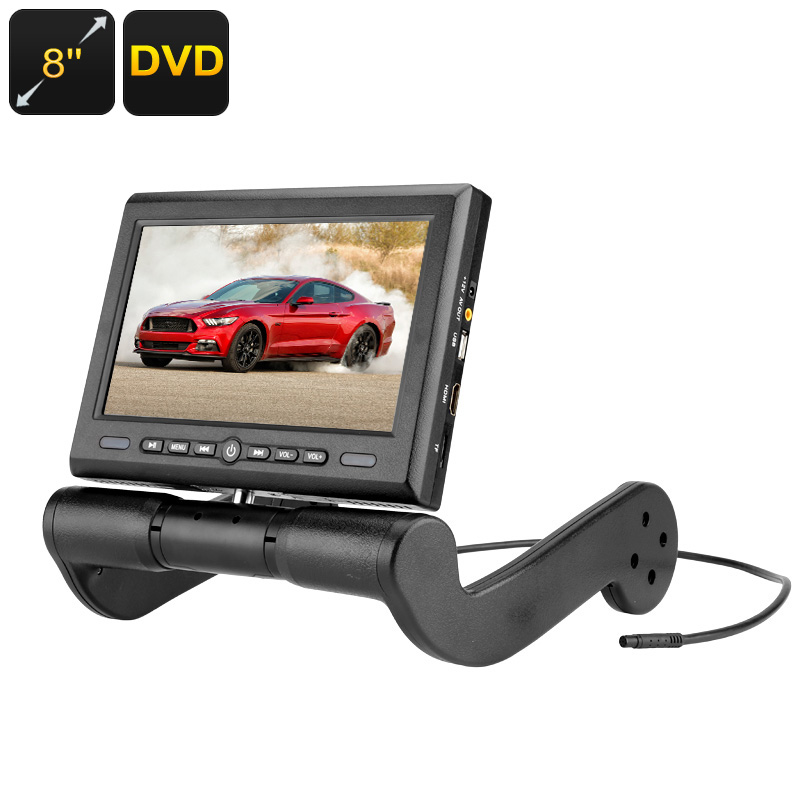 Central Armrest Car DVD Player