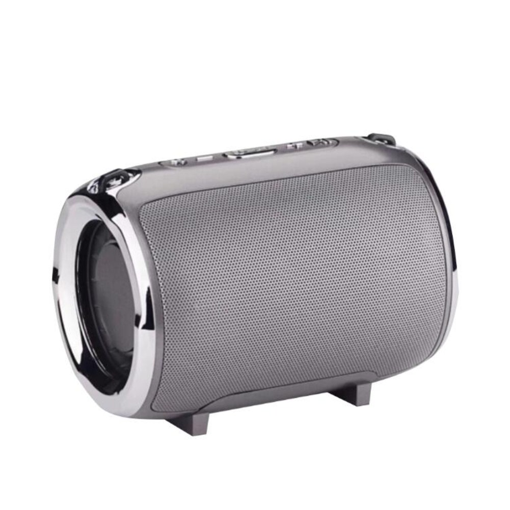 Wireless Bluetooth Portable with Super Subwoofer TWS Insert Card Mini Speaker gray