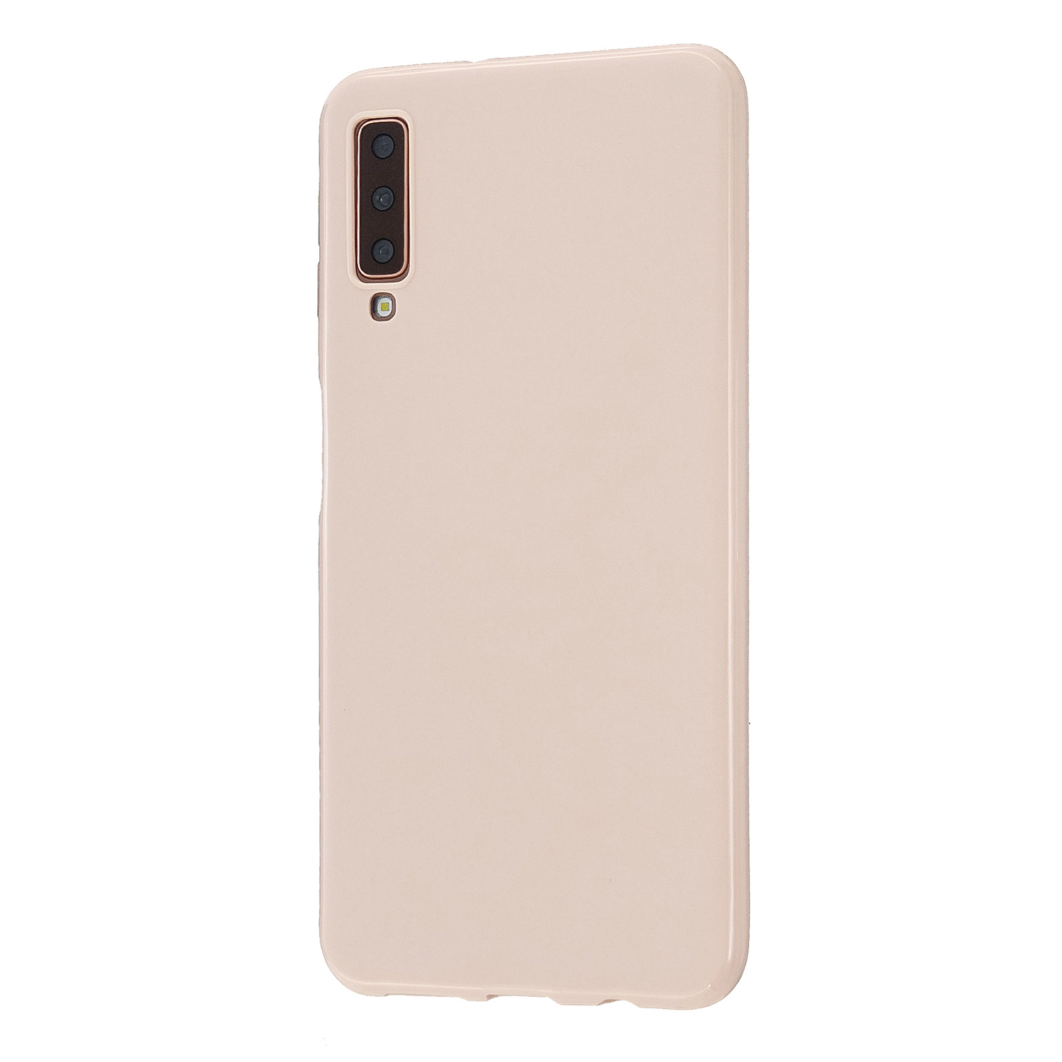 For Samsung A7 2018/A920 Smartphone Case Soft TPU Precise Cutouts Anti-slip Overal Protection Cellphone Cover  Sakura pink