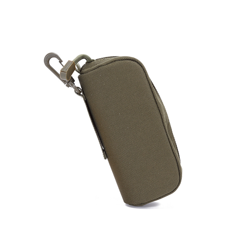 Tactical Sunglasses Case Military Molle Pouch Camouflage Goggles Storage Box Eyewear Accessory Waist Pouch Military color_15*6*6cm