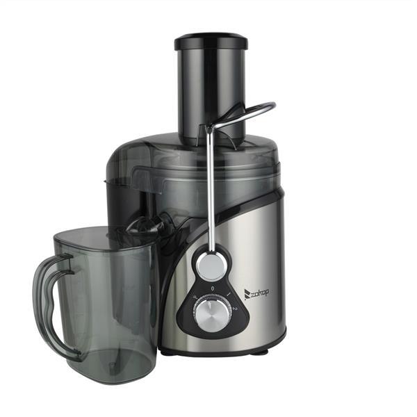 [US Direct] Original ZOKOP Juicer  Machines Extractor Alw-j09 110v 800w 85mm 3 Modes Adjustable Juicers For Fruit Vegetable black