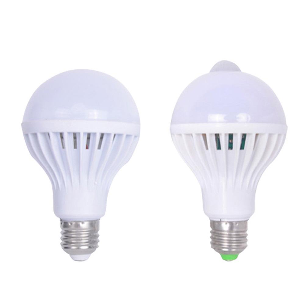 Sound Light Control Led Lamp Bulbs Motion Sensor Home Lighting for Gate Stairs