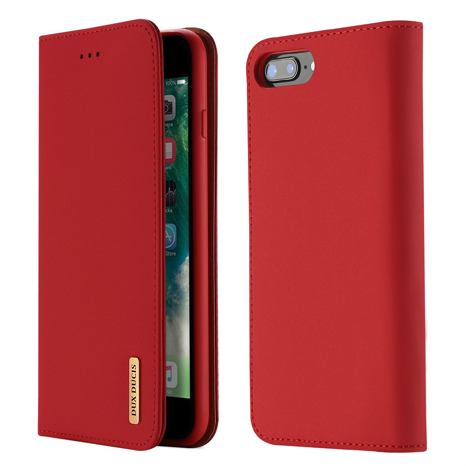 Magnetic Flip Cover Full Protective Case