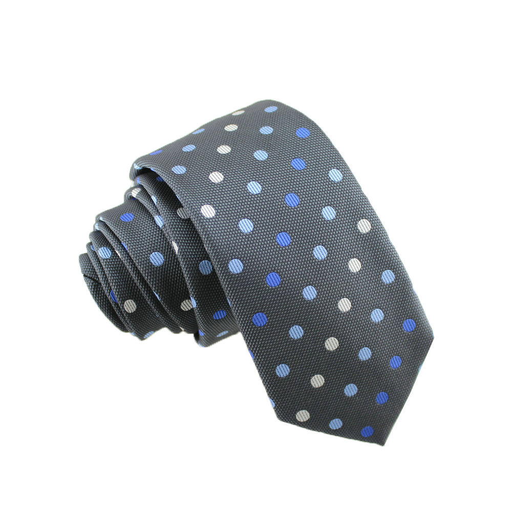 England Style Male Dot Casual Neck Tie Narrow Model 6CM Cotton Tie  21