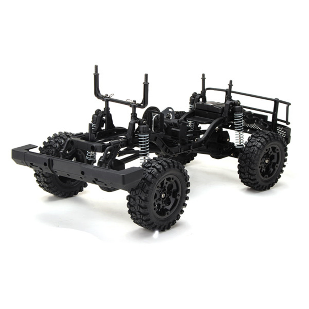 HG P402 1/10 RC Car Kit Without Electronic Parts Drive Roadster Climbing Car Electronic parts