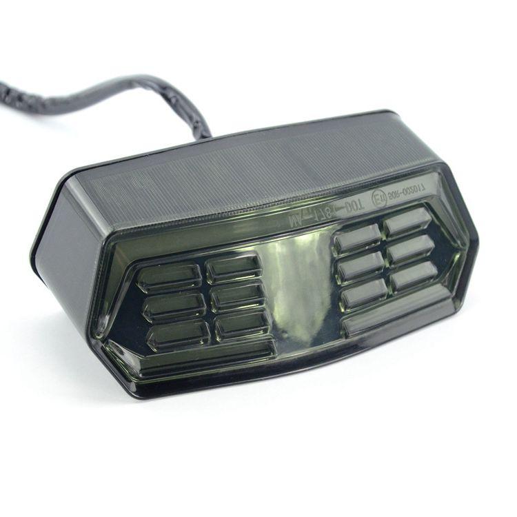 Motorcycle LED Brake Tail Light Integrated Turn Signal for Honda Grom MSX 125 Turn Signal Light