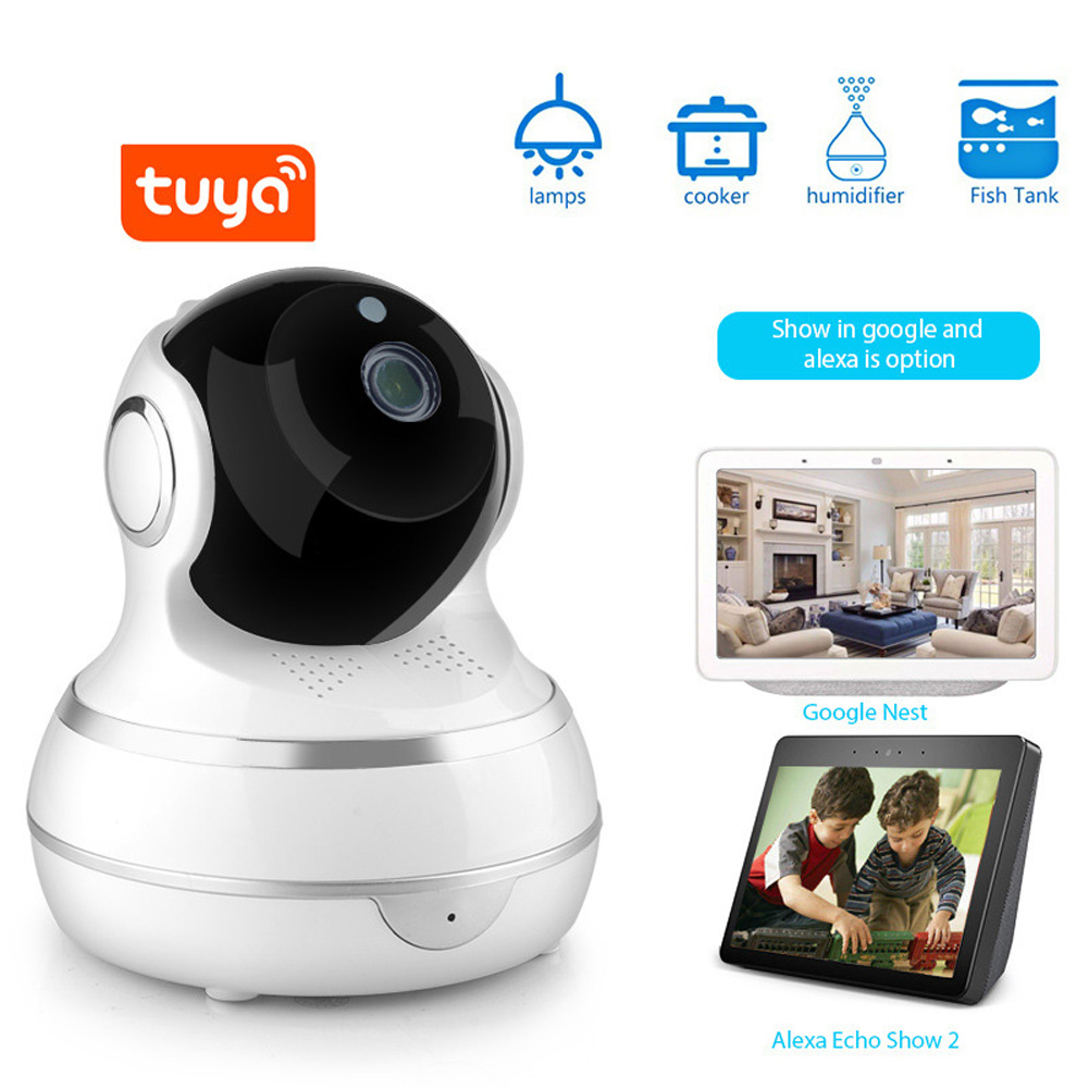 Tuya Doodle WiFi Network Wireless Camera Full HD 1080P Home Security Camera European Standard