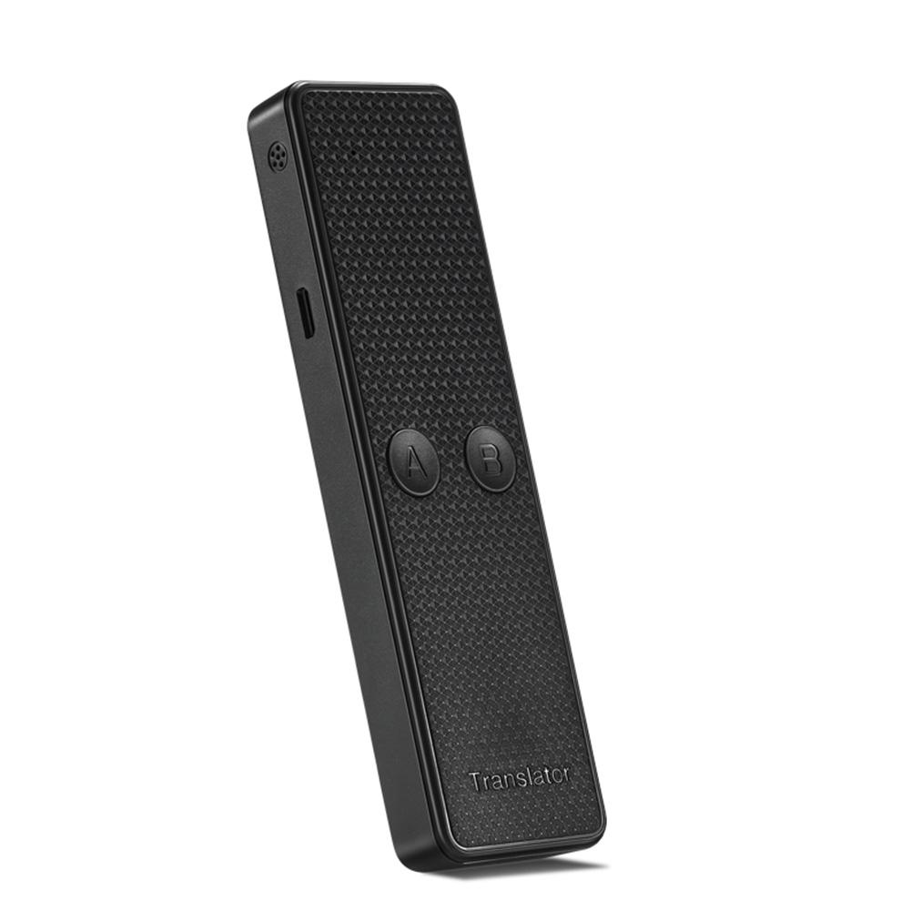 K6 Portable Audio Translator Intelligent Real-time Instant Voice Translator for Business Meetings Learning Travel black