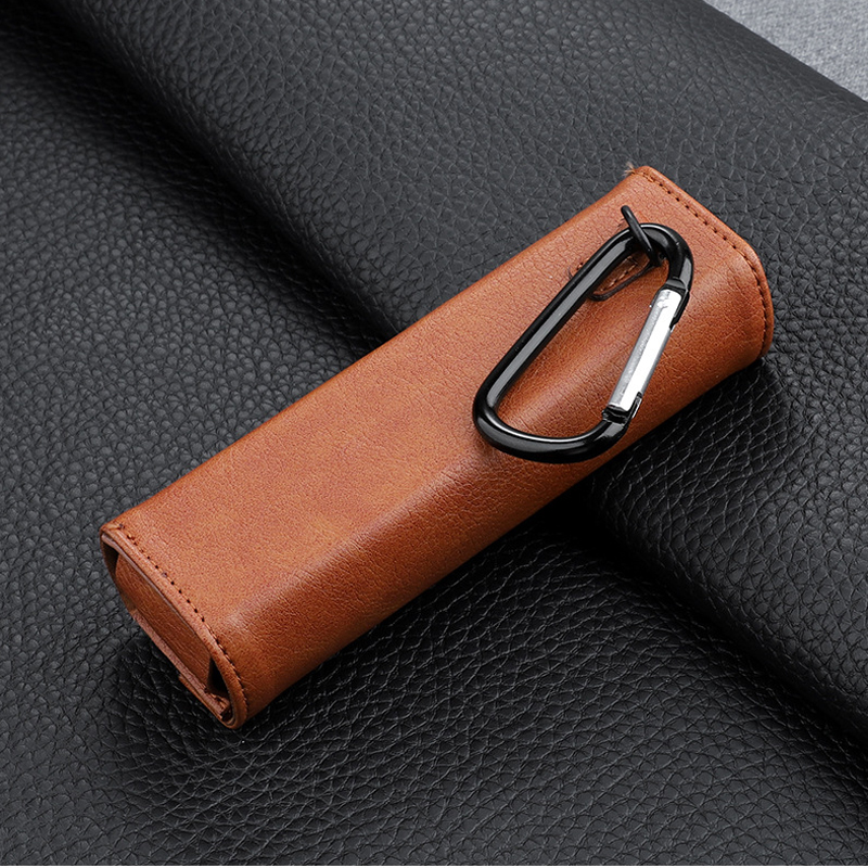 For DJI Osmo Pocket Gimbal Portable Bag Leather Case Handheld Camera Accessories brown