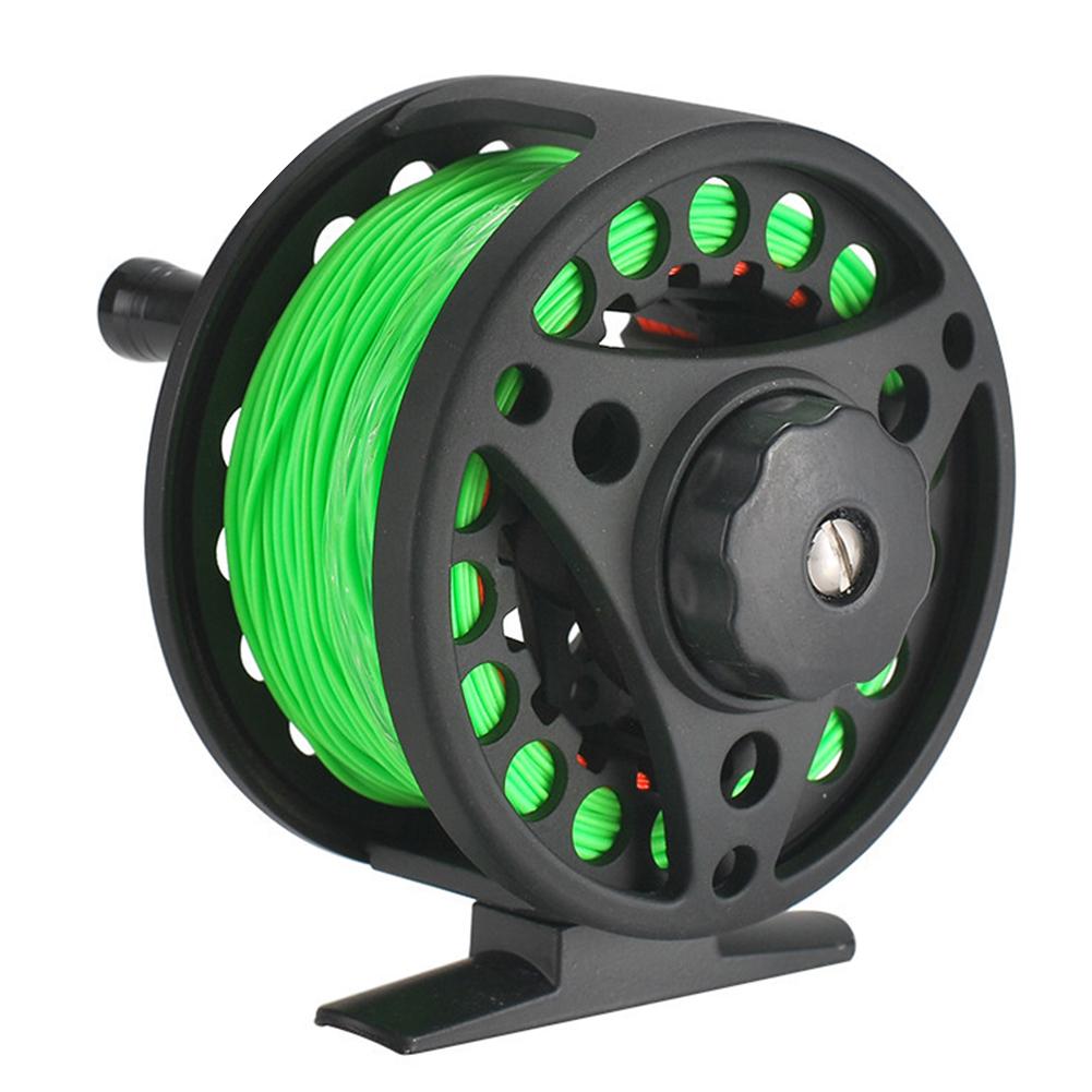 Aluminum Alloy Flyfishing Reel OD 85MM Front Wheel Export Fishing Reel 7.5CM winding