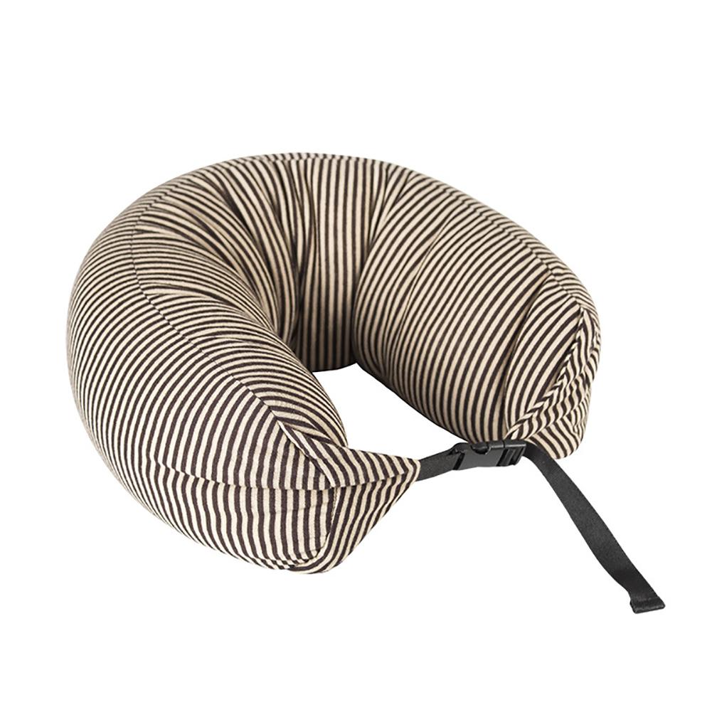 U Pillow Neck Pillow Shaped Particles U Neck Pillow For Siesta  Pillow Plane  Travel  Car Drive yellow