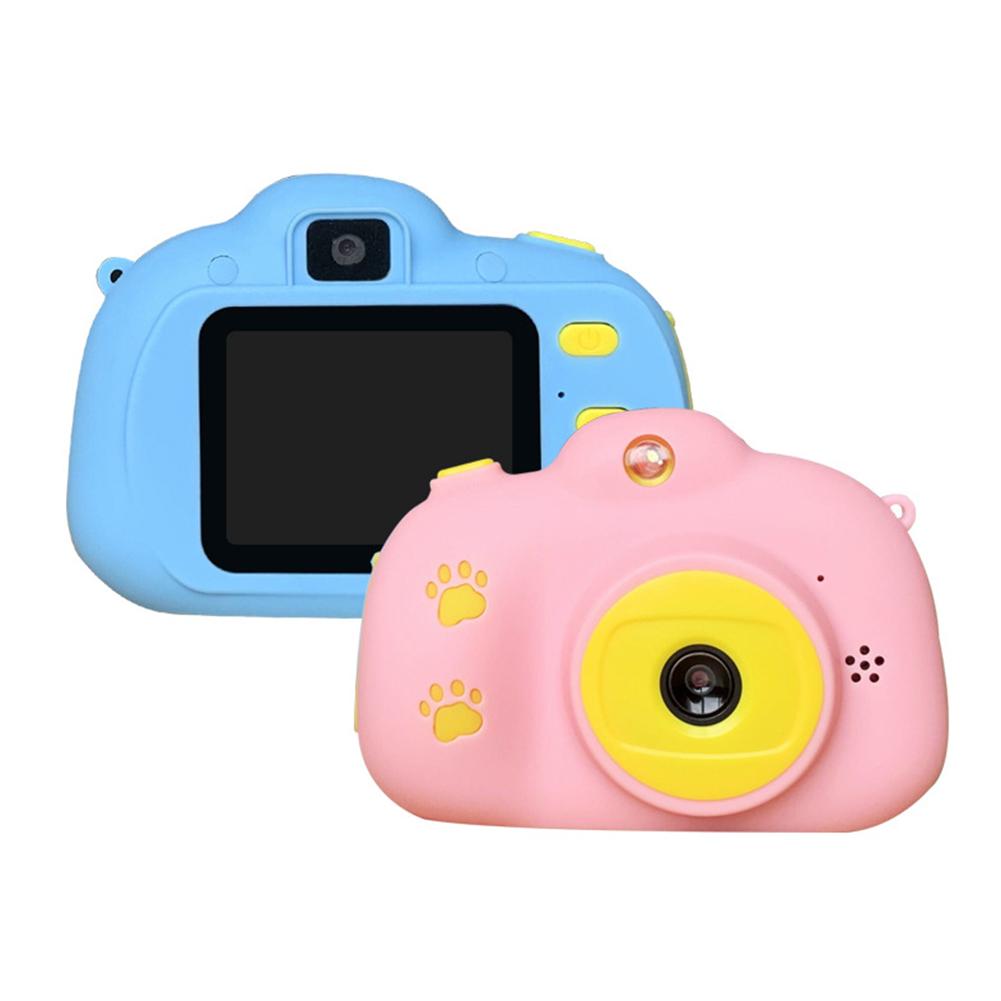 Children's Camera Auto-focus Cartoon Mini Digital Camera for Children Blue