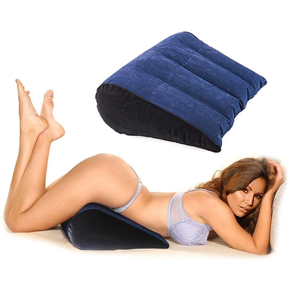 Sex Roll Pillow Neck Pillow Yoga Bolster Neck Roll Position Love Pillow Lumbar Pillow Sex Toy with Loach for Women Couples Sex pillow