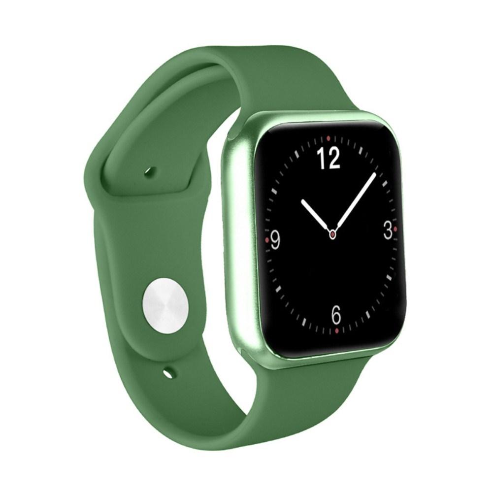 P20 Smart Bracelet Full-Screen 1.3 Inch HD Color Screen Sports Heart Rate Blood Oxygen Monitoring Waterproof Smart Watch green