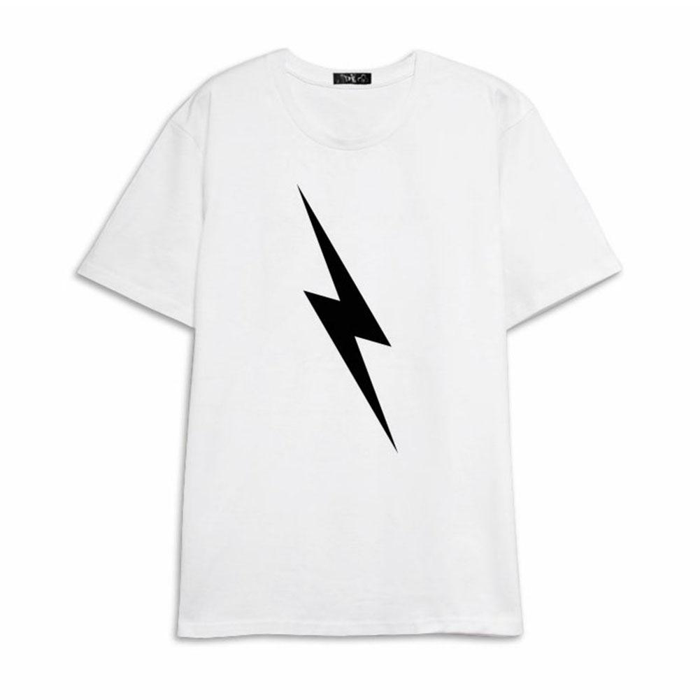 Men Women NCT127 T Shirt Short Sleeve Fashion Student Summer Tops for Couple Lover White K260#_M