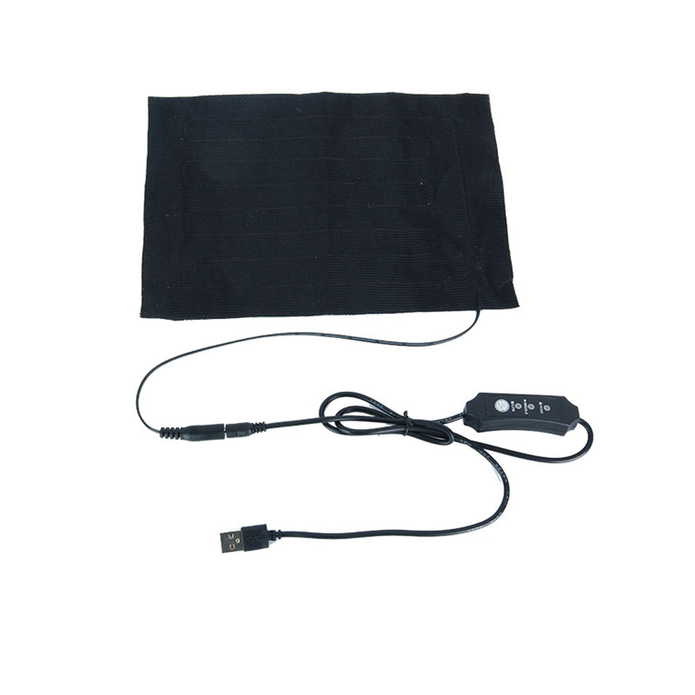 Warm Back Neck Fast-Heating Carbon Fiber Heating Pad Hand Warmer USB Heating Pad Electric Winter Infrared Heat Mat 17*24