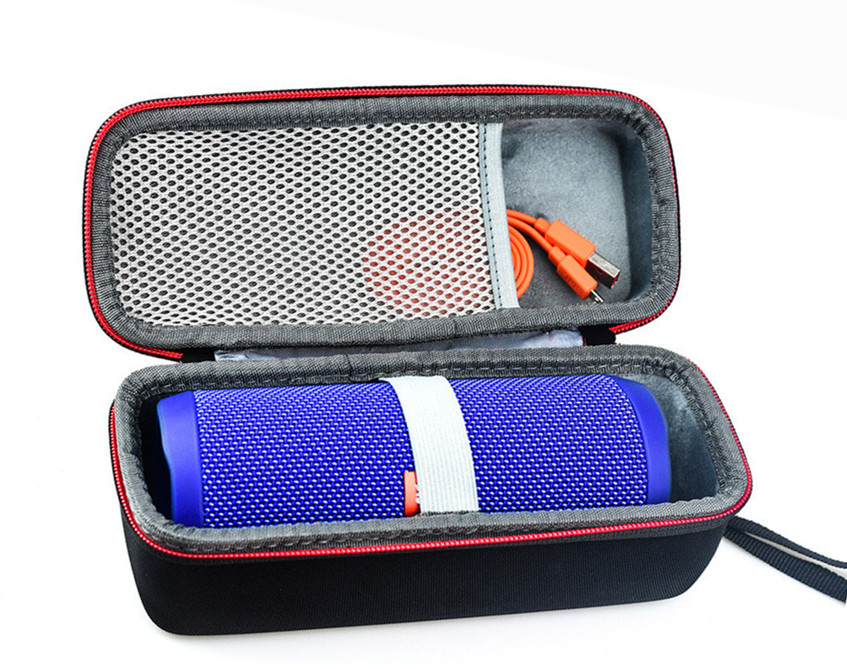 Portable Protection Storage Case for JBL Flip 3/4 Speaker black