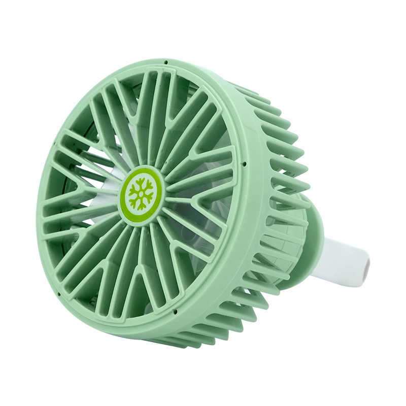 Multi-function Electric Fan Air Outlet Powerful Cooling Car  7691 green