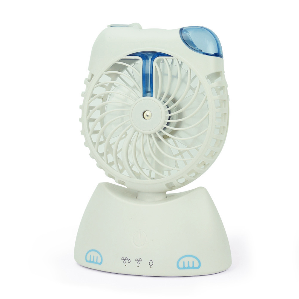 Usb Charging Humidification Fan for Student Desktop Misting Fan