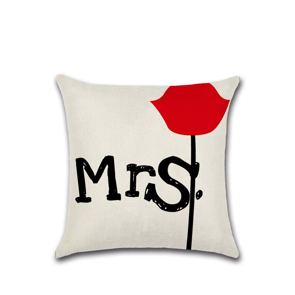 Proverbs Printing Pillow Cover