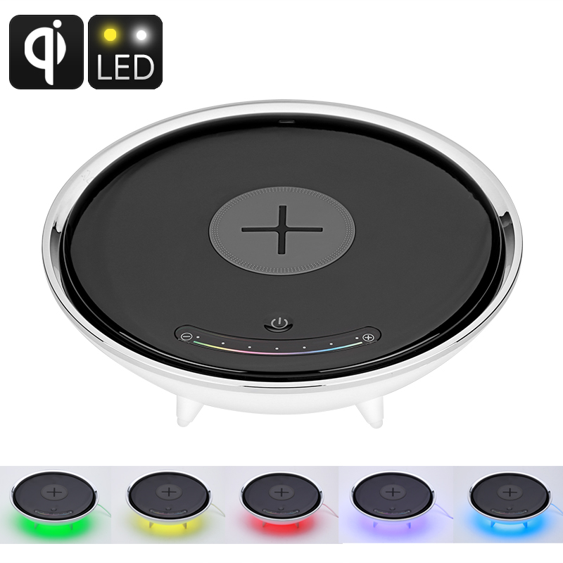 LED Color Light Qi-Enabled Charger
