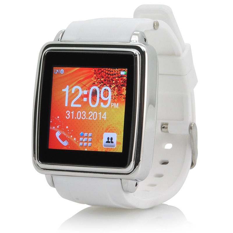 Bluetooth Smart Watch (White)