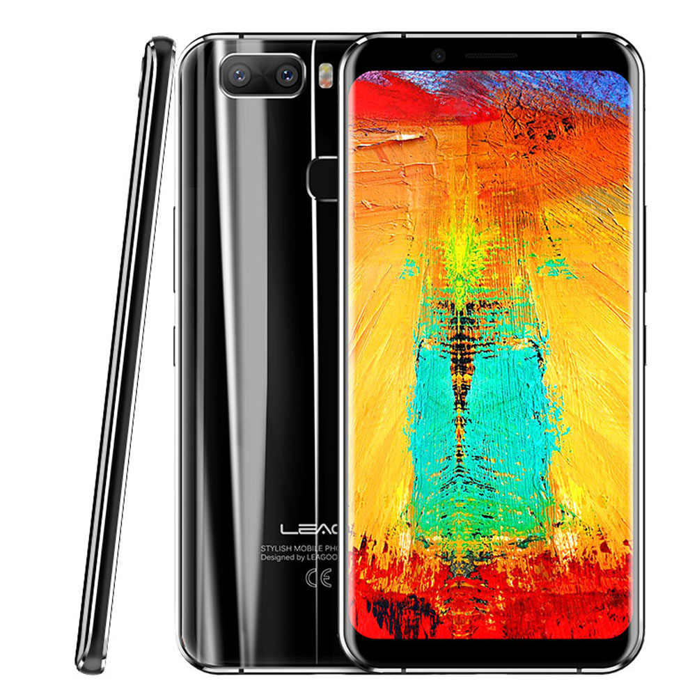 Leagoo S8 PRO 5.99 Inch Smart Phone Black