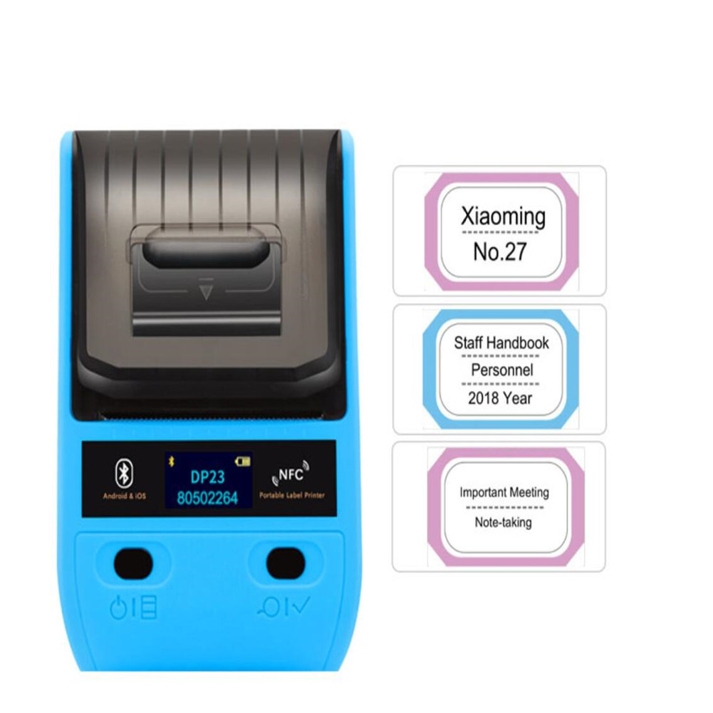 Dp23 Label  Printer Handheld Thermal Bluetooth Portable Household Coding Machine 50mm