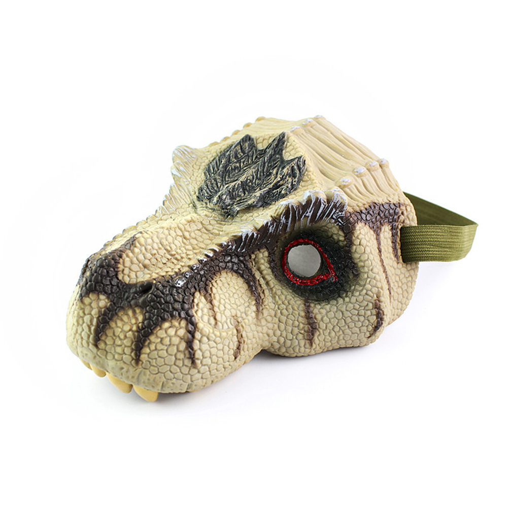 Simulation Dinosaur Mask Model Halloween Funny and Prank Toy Tyrannosaurus Rex Triceratops Tyrannosaurus Rex mask