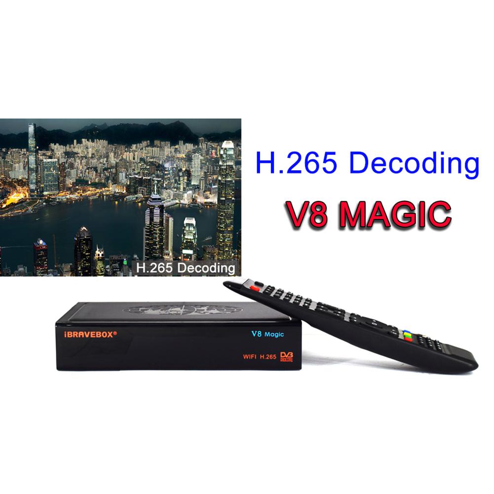 iBRAVEBOX V8 Magic DVB-S/S2 & IPTV Digital Free Satellite Web TV Receiver  AU plug