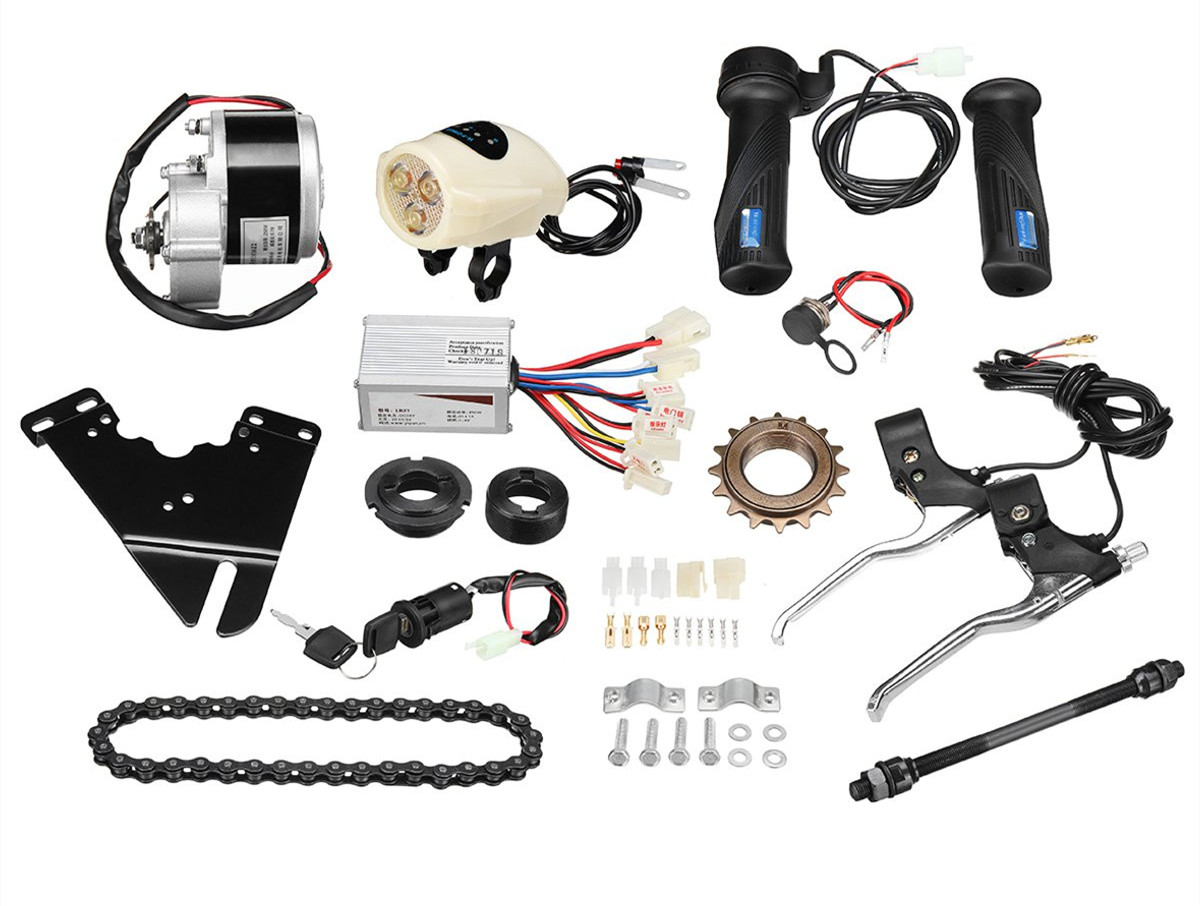 Motor Controller Electric Bike Kit Electric Bicycle Conversion Kit for Electric Bicycle 36V 250W