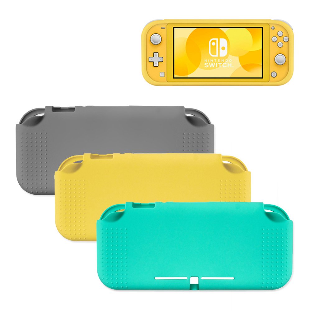 Protective Case For Nintendo Switch Lite Soft Coverage Case With Anti-Slip Anti-Shock yellow