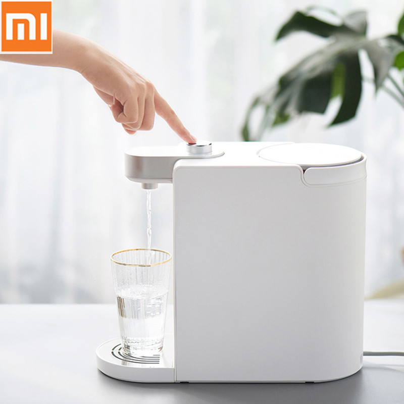 Original Xiaomi SCISHARE Smart instant Heating Water Dispenser 1800ML Fast 3s Water for diffirent Cup-Type Household Appliances White