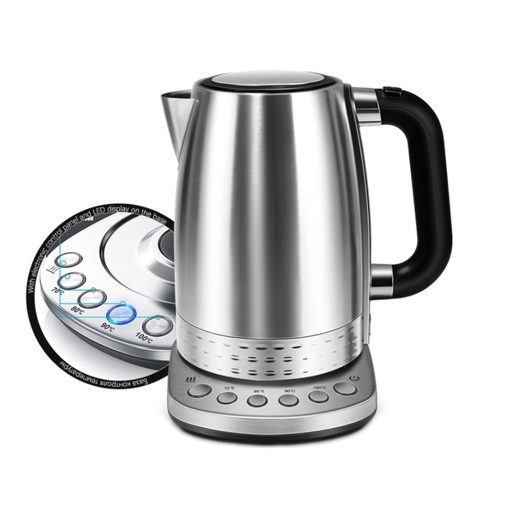Coffee  Maker Kettle Automatic Power-off Electric Pot Adjustable Temperature Control as picture show