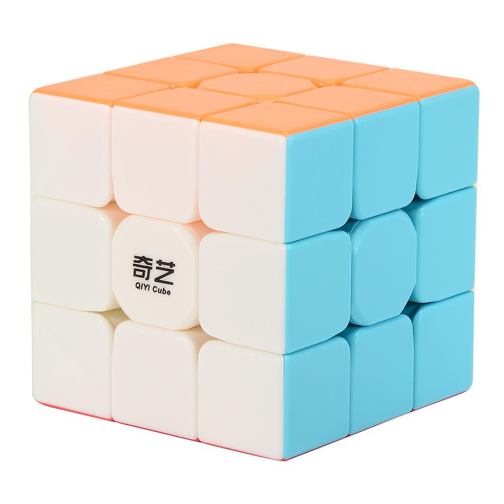 [EU Direct] QIYI Warrior W 3×3 Stickerless Magic Puzzle Cube Brain Exercise Toy