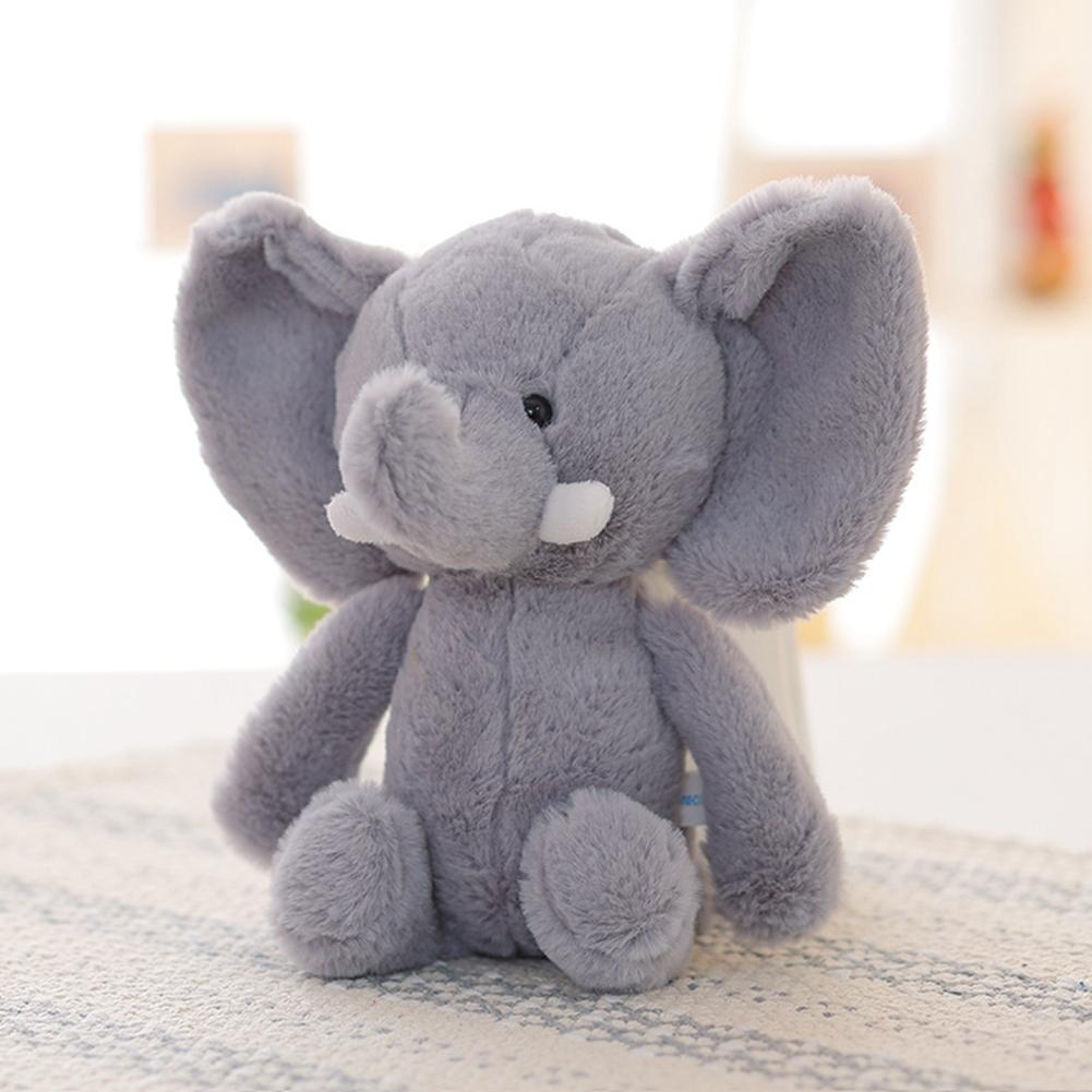 [EU Direct] Stuffed animal baby elephant stuffed animal gray elephant