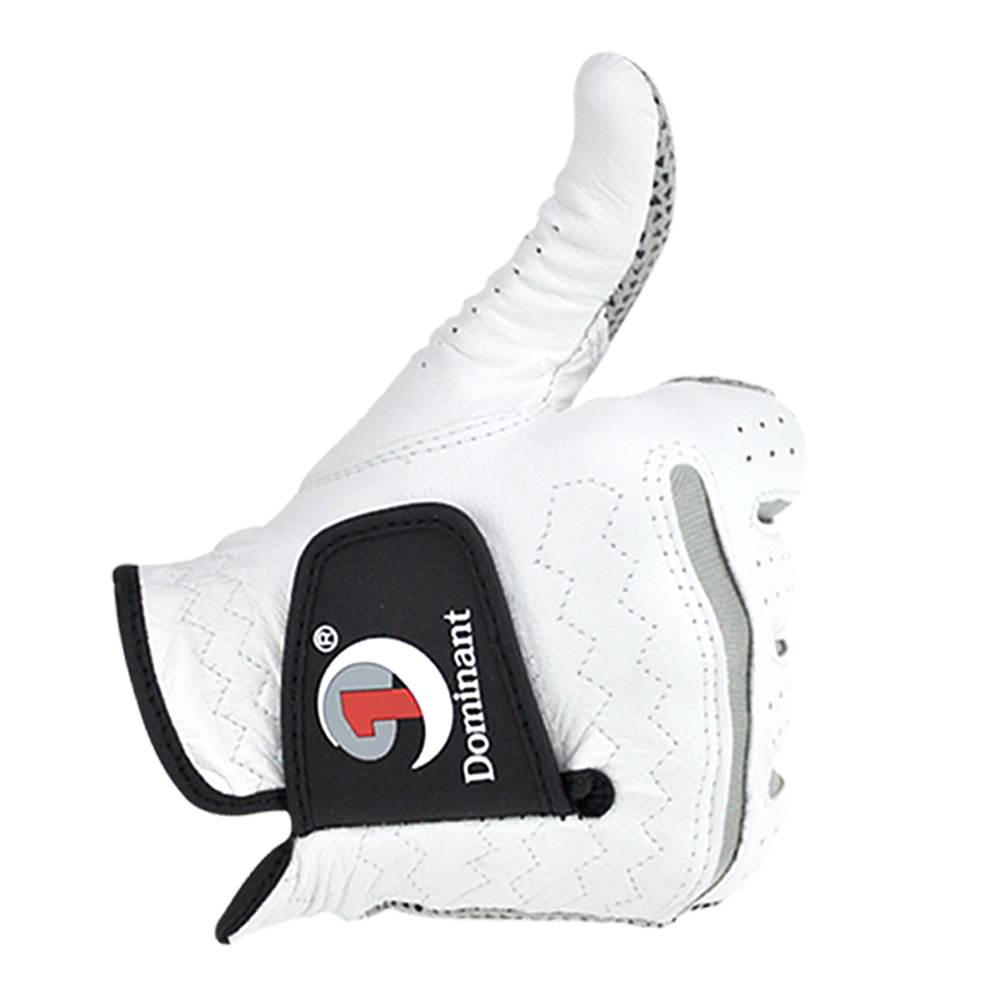 Men Golf Gloves Leather Skid-proof Gloves Men Right Hand Soft Breathable Sheepskin Golf Gloves Golf Accessories 23#