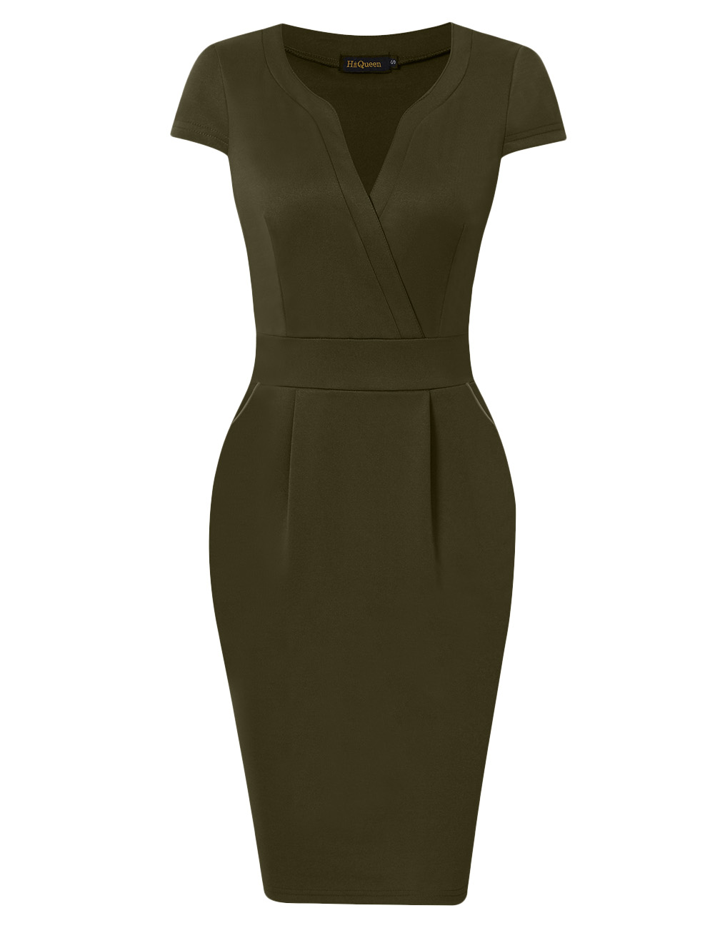 Women's Cap Sleeve Pencil Dress