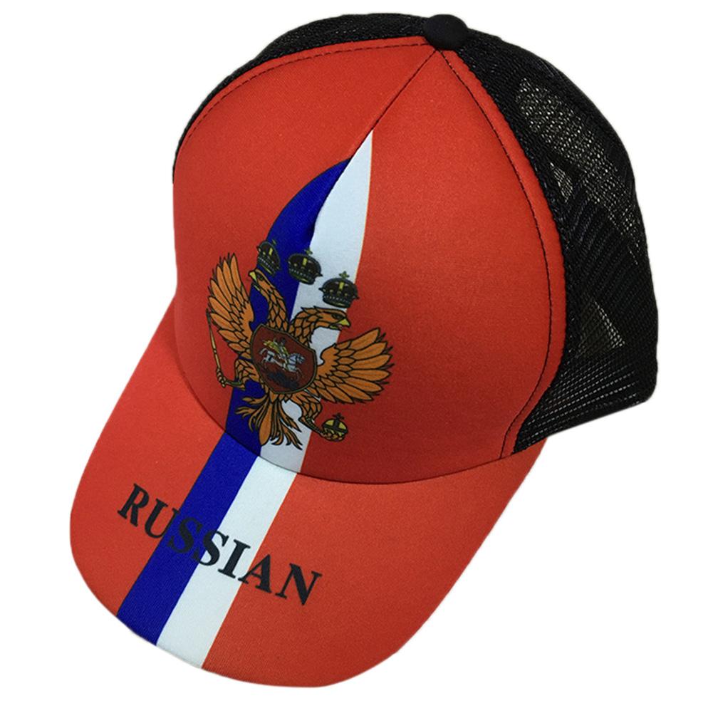 Unisex Fashion 2018 Russia World Cup Theme Baseball Cap Adjustable Sports Hats Soccer Fan Souvenir  Russia