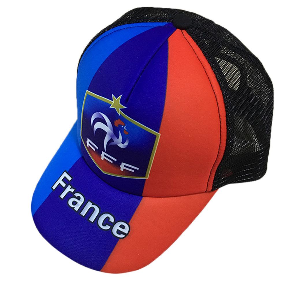 Unisex Fashion 2018 Russia World Cup Theme Baseball Cap Adjustable Sports Hats Soccer Fan Souvenir  France