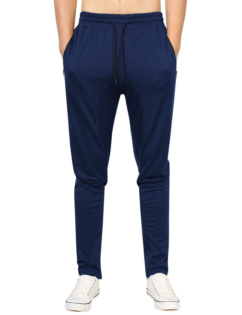 Yong Horse Men's Drawstring Waist Sweatpants