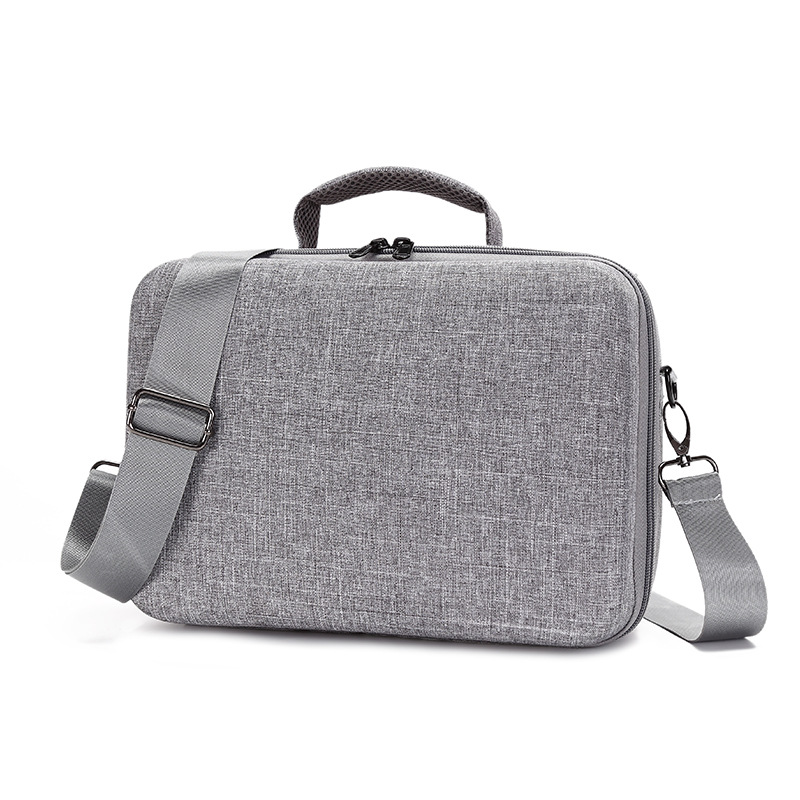 Portable Carry Case for DJI Mavic Air 2 Waterproof Scratch Proof Anti Shock Shoulder Bag for Mavic Air 2 Accessories gray