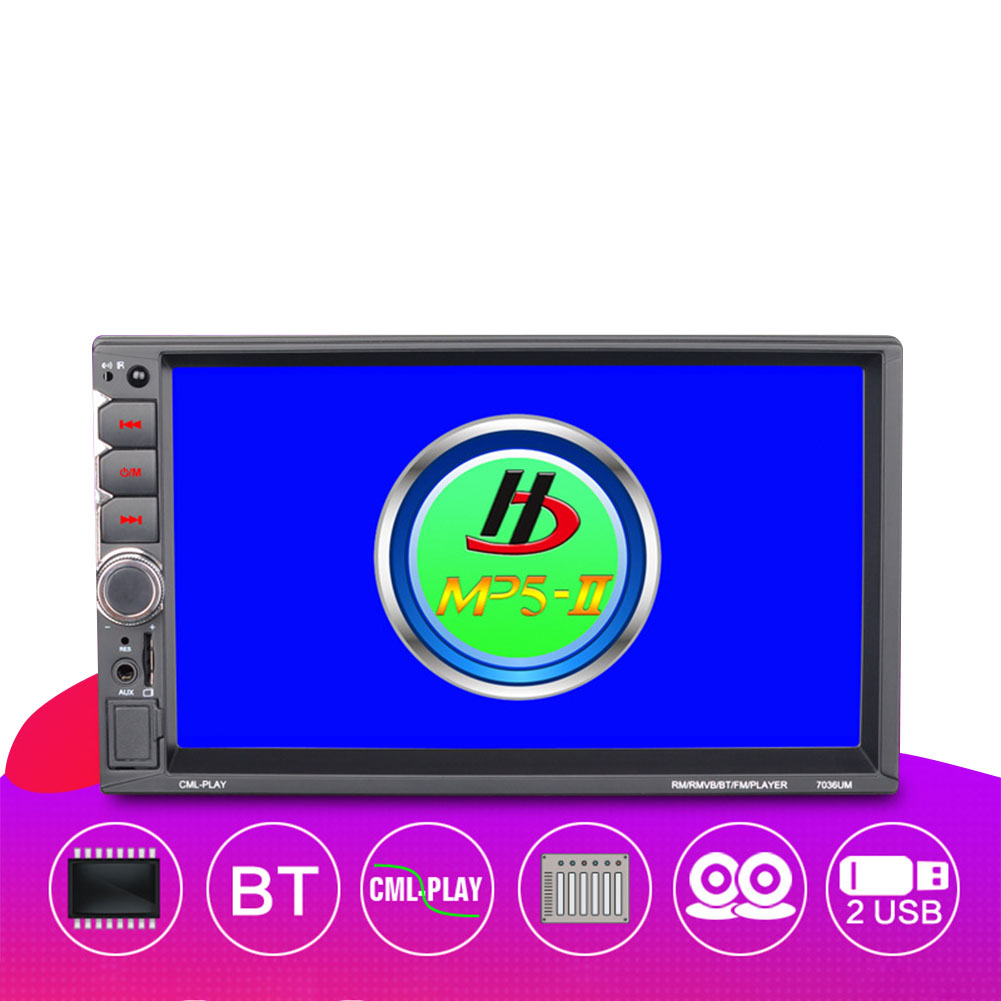 Car Multimedia Player Auto-radio  7